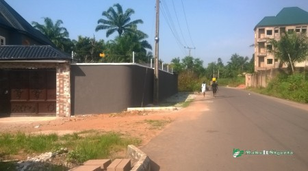 Side Fence / Link  Road